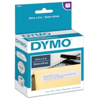 DYMO LabelWriter Return Address Thermal Labels, White, 3/4