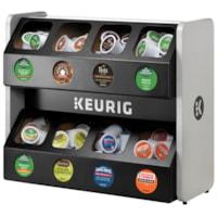 Rangement pour dosettes K-Cup Premium Keurig, noir, capacité de 8 boîtes