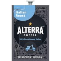 Flavia Alterra Single-Serve Coffee Freshpacks, Italian Roast, Dark Roast, 100/CT