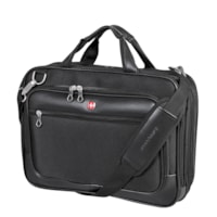 SwissGear Top-Loading Black Messenger Bag