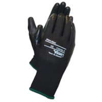 Viking 73376 Nitri-Dex Work Gloves, Black, Small, 1 Pair