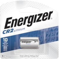 Energizer CR2 Lithium Photo Battery, 1/PK (EL1CR2BP)