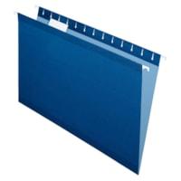 Pendaflex Premium Reinforced Hanging Folders, Navy, Legal Size, 25/BX