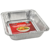 Titan Aluminum Foil Deep Steam Pans, 1/2 Size, 2/PK, 24 Packages/CT
