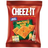 Cheez-It Baked Snack Crackers, Hot and Spicy, 85 g, 6/BX