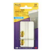 Onglets de classement durables de 2 po Post-It avec distributeur pratique, emb. de 24