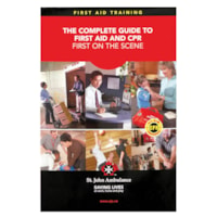 St. John Ambulance First On The Scene First Aid Manual, English