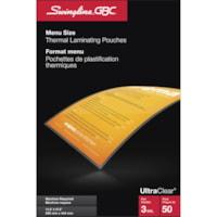 Pochettes de plastification thermique ultratransparentes Swingline GBC