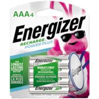 Piles rechargeables AAA NiMH Energizer Recharge Power Plus, emb. de 4 (NH12BP4)