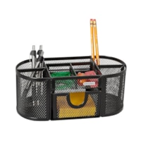 Rolodex Mesh Oval Supply Caddy