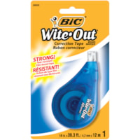 Ruban correcteur Wite-Out Ezcorrect BIC, blanc, emb. de 1