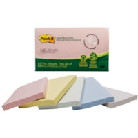 Post-it Greener Notes, Helsinki Colour Collection, Unlined, 3