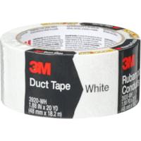 Ruban adhésif en toile 3M, blanc, 48 mm x 18,2 m