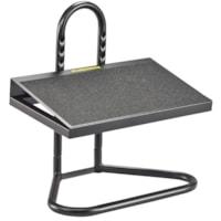 Safco Task Master Adjustable Footrest, Black
