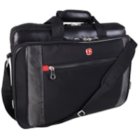 SwissGear Laptop Carrying Case, Black, Fits Laptops up to 17