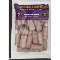 Tubes pour monnaie en papier Coin-Tainer