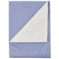 Protège-drap réutilisable BIOS Living, bleu, 34 po x 37 po