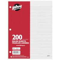 Hilroy Economy Loose-Leaf Sheets