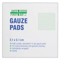 Tampons de gaze stériles SAFECROSS
