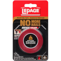 LePage No More Nails Double-Sided Permanent Tape