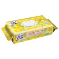 Lysol Disinfecting Wipes, Citrus Scent, 80/PK