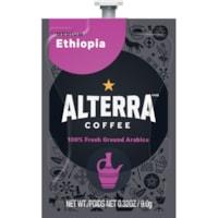 Flavia Alterra Single-Serve Coffee Freshpacks, Ethiopia, Medium Roast, 100/CT