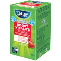 Tetley Tea Super Green Berry Boost Tea, 25/BX