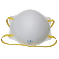 Dentec AD2 Series N95 Cone-Shaped Disposable Respirators, Without Valve, 20/BX