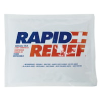 Rapid Relief Reusable Cold/Hot Gel, 6 3/4