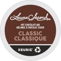 Dosettes K-Cup de mélange à chocolat chaud noir Laura Secord, boîte de 24