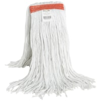 Globe Commercial Products Synthetic Wet Mop With Narrow Band And Cut End, 20 oz