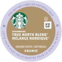Starbucks Coffee Single-Serve K-Cup Pods, True North Blend, 24/BX