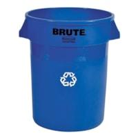 Poubelles commerciales ventilées Brute Rubbermaid, 20 gallons, bleu