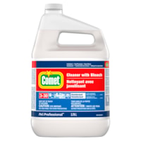Comet Cleaner with Bleach, Concentrate Closed Loop, 3.87 L, 3/CS
