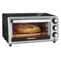 Hamilton Beach 4-Slice Stainless-Steel Toaster Oven