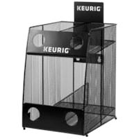 Rangement pour dosettes K-Cup Keurig, noir, maille métallique, capacité de 4 boîtes