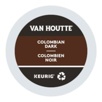 Van Houtte Single-Serve Coffee K-Cup Pods, Colombian Dark Roast, 24/BX