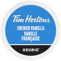 Dosettes K-Cup de café Tim Hortons, vanille française, boîte de 24