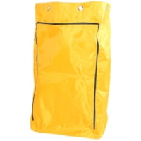 Globe Commercial Products Vinyl Replacement Bag With Zipper