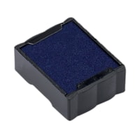 Trodat S-Printy Blue Small-Size Stamp Replacement Pads, 2/Pk