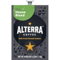 Flavia Alterra Single-Serve Coffee Freshpacks, House Blend, Decaf, 100/CT