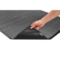 Mat Tech Proluxe Wiper Entrance Mat, Charcoal, 3' x 5'