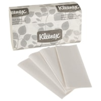 Kleenex Scottfold 1-Ply Paper Towels, White, 120 Sheets/PK, 25 Packages/CT