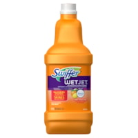 Swiffer WetJet Cleaner Solution Refills, Multi-Surface, Sweet Citrus and Zest Scent, 1.25 L