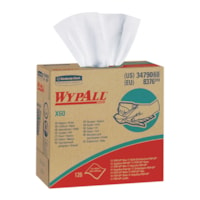 WypAll X60 Wipers, BRAG Box, 126 Wipers, White
