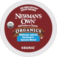 Dosettes K-Cup de café torréfaction moyenne Newman's Own, mélange spécial, boîte de 12