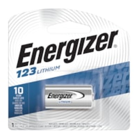 Energizer 123 Lithium Photo Battery, 1/PK (EL123APBP)