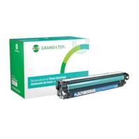 Grand & Toy Remanufactured HP 650A Cyan Standard Yield Toner Cartridge (CE271A)