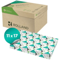 Rolland Enviro Copy Paper, White, Tabloid Size, Ream