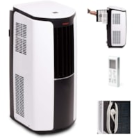 Tosot 10,000 BTU Portable Air Conditioner, White/Black